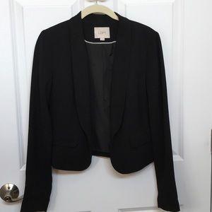 Lightweight black blazer by LOFT